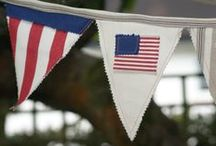 Red, White and Blue.... / ...We love America too!  / by Mamas & Papas US