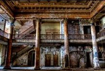 Glorious Ruins / Abandoned places- PLEASE don't pin more than 10 images in one sitting. I have worked hard to create this board & appreciate your consideration. Thank you! / by Margaret (Peg) Duncan Lynch