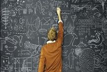creative - chalkboards... / by rebecca...