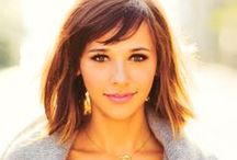 Rashida Jones / Rashida Leah Jones is an American film and television actress, comic book author, screenwriter, and occasional singer. Jones is widely known for her role as Ann Perkins on NBC's comedy Parks and Recreation. / by Kevin Griffin