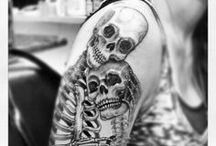 Skulls & Skelingtons / by Ethel Blastbeat