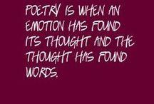 ωσя∂ѕ / Poetry is how we put life into words. I think it's healthy to look at our lives written. It makes things seem less confusing. / by δαɦαℓey