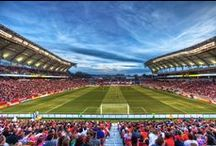 Rio Tinto Staidum / The sights and scenes from Rio Tinto Stadium, home of Real Salt Lake. / by Real Salt Lake