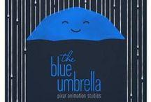 The Blue Umbrella / by Mila Solobina