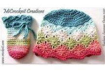 Crochet-hats/headbands / crochet patterns-hats/headbands / by Lynn Ehresman