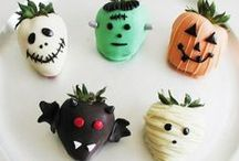 Favorite Halloween Recipies / Spooky and Scary and GROSS Halloween Recipes. / by Food Author