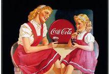 Vrouwen van Coca Cola / by Jolanda (Kunjijook)