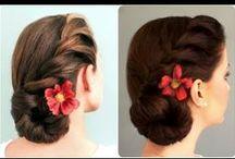 video make hair collected / by rocio p.a.