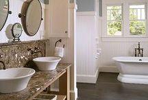 Salle de bain | MAISON FACILE / Espace de relaxation et de bien-être découvrez tous nos meubles et nos coups de coeur déco pour la salle de bain. Plus d'idées déco sur www.maison-facile.com  #salledebain #bathroom #homedecor / by Maison Facile