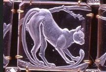 Lalique ~ Jewelry and Objet d'Art  / René Lalique, 1860-1945. French, ground breaking jewellery and glass artist. / by Nancy Shogren
