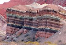 Geology / Geology and Geography |  Note: Ma = mega-annam or million years / by Nancy Shogren