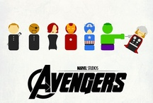 Avengers Assembled / The Avengers will return if and when they are needed. - Nick Fury / by tanya m. smith