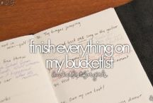 One Day... / Things I want to do before I die  / by Manasi Verma