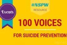 100 Voices for Suicide Prevention / Every 40 seconds the world loses someone to suicide. This grim statistic is being challenged every day by mental health advocates and practitioners. Over 45 leading voices in the suicide prevention field have contributed guest posts, podcast interviews, PSA's, and resources to help raise awareness in honor of Suicide Prevention and Awareness Month. We ask that you share this project to help promote the work that our collaborators are doing to prevent suicide in their communities.  / by USC SocialWork