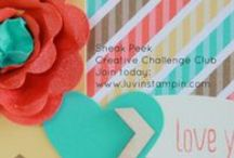 Card and Craft Kits for Purchase / Card making kits http://www.luvinstampin.com/?m=1 / by Luvin Stampin