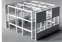 Arquitetos - Peter Eisenman / Diagramas processuas e projetos de Peter Eiseman / by Andressa Martinez