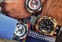 Must-Have Men's Watches / by Van Rijk