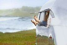 Cozy camper trailers / by Margaret Ann Frank