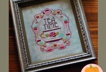Embroidery and Cross Stitch  / by Lara