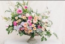 Floral Centerpieces  / Beautiful floral centerpieces for your wedding  / by Sara | Burnett's Boards