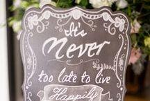 Wedding Signage  / Wedding signs, menus, and more.  / by Sara | Burnett's Boards