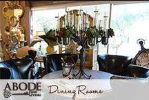 Dining Room Design / by Abode Fine Living