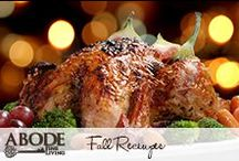 Fall Recipes / Find the perfect recipes to make for fall #food #fall #recipe / by Abode Fine Living