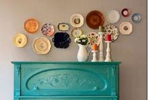 Frames, Mirrors, and Plates! Oh my!!  / Love these! / by Kandy Larrimore