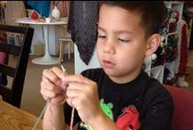 Crafty Kids / Fun crafts for kids. / by Mary Maxim-Retail