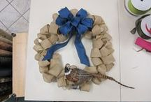 Burlap Projects / Craft and home decor projects using burlap. / by Mary Maxim-Retail