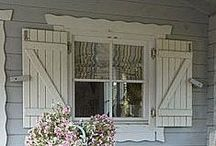Shutters & Shelves / by Kandy Larrimore