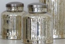Silver and Mercury Glass / by Kandy Larrimore