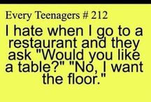 #Teenage Posts and Relateable stuff / by Nina Juliette
