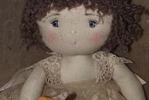 Primitive doll  / by Susan Swaim
