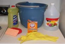 cleaning tips / by Judy Newberry