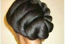 hair styles for women + hair care / by Jackie