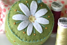 Pincushions and Needlebooks / by Lee Ann Quigley