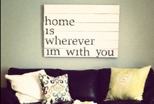 home sweet home ideas / by Steph Colizza