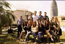 Office Views / Vistas desde la oficina de IES Consulting en Barcelona / by IES Consulting - Expat Intern SL