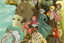 Go Studio Ghibli / by Leigh Fox