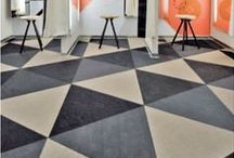 Resilient Flooring / Resilient Flooring products and installations.  Products include sheet vinyl, linoleum, luxury vinyl tile and planks, rubber flooring, cork, etc. / by ReSource Arizona