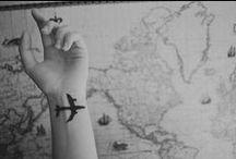Viajar é preciso... / Viajar é mudar a roupa da alma . / by Gi Lages