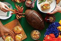 football game food / all kinds of food for your game day / by Eve Gourley