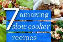 crock pot cooking & slow cooking pot / anything u can cook in a crock pot....or a slow cooking pot.. / by Eve Gourley