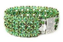 Superduo / twin beads / Jewelry with superduo / twin beads / by Marta Andrusenko