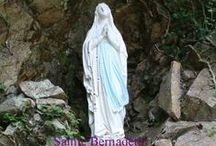 Statues, statuettes, santons, icônes, images / Saints, divers / by Guy Combes