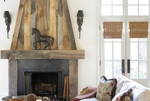Fireplaces / by Laurie Iverson
