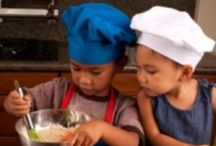 CHILDREN: Cooking With The Kids / A board dedicated to teaching Mothers and Children easy-to-make recipes. A starting point to get your children curious about cooking. / by Missy Shaffer