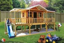 DESIGN/DIY: Child's Outside Play Space / by Missy Shaffer