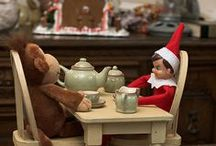 CHRISTMAS: Elf On A Shelf / Some of these Ideas are simply hilarious. I think I have laughed harder putting this board together than any other. Enjoy and Have A Merry Christmas! / by Missy Shaffer